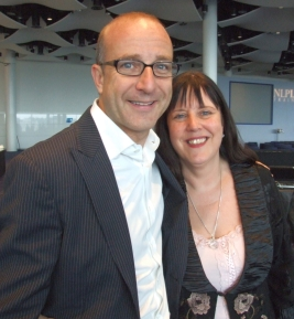 Tina Taylor with Paul McKenna